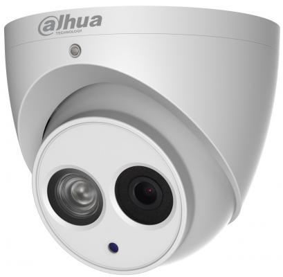 "Видеокамера Dahua DH-IPC-HDW4231EMP-AS-0600B CMOS 1/2.8"" 6 мм 1920 x 1080 Н.265 H.264 H.264+ H.265+ RJ-45 LAN PoE белый"