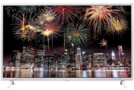 Телевизор LG 49UJ639V белый