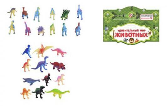 Набор фигурок Shantou Gepai Динозавры KL-01-2 набор фигурок little zu динозавры 90050в