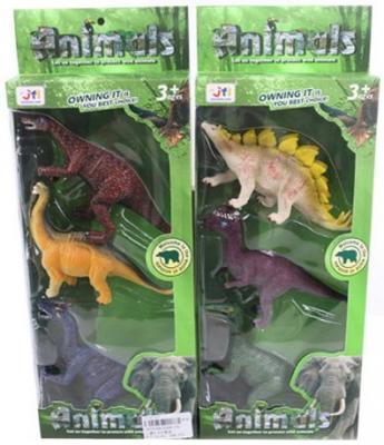 Набор фигурок Shantou Gepai Динозавры в ассортименте набор мини динозавры и пазл schleich набор мини динозавры и пазл