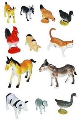 Набор фигурок Shantou Gepai Домашние животные фабрика фантазий набор для создания фигурок из гипса домашние питомцы