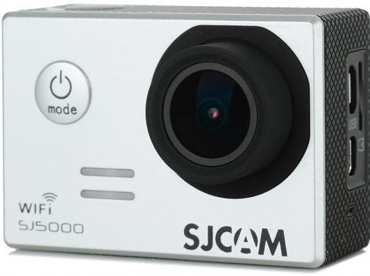 Экшн-камера SJCAM SJ5000 WiFi 1xCMOS 14Mpix серебристый экшн камера sjcam sj5000 wifi 1080p wifi серебристый [sj5000wifisilver]