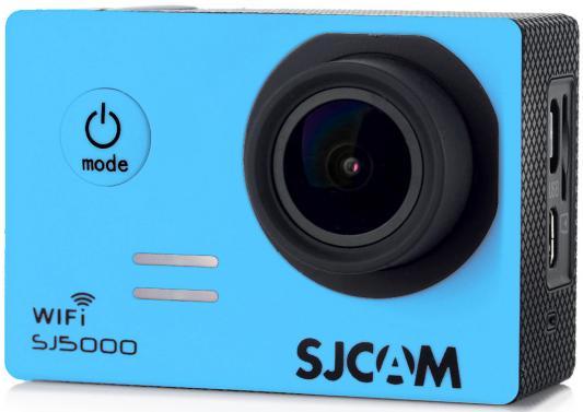 Экшн-камера SJCAM SJ5000 WiFi 1xCMOS 14Mpix синий