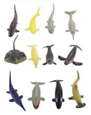 Набор фигурок Shantou Gepai Морские животные магниты 4m морские животные