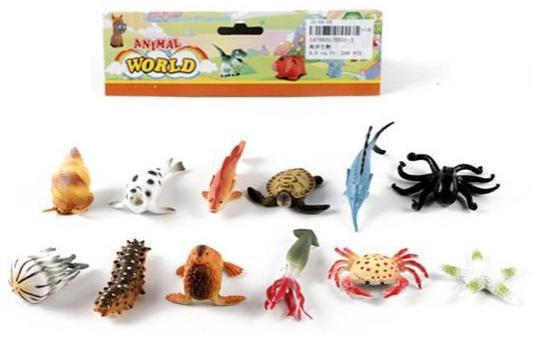 Набор фигурок Shantou Gepai Морские животные набор фигурок shantou gepai дикие животные