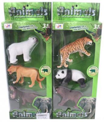 Набор фигурок Shantou Gepai Дикие животные в ассортименте