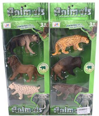 Игровой набор Shantou Gepai Дикие животные D160-03B в ассортименте набор фигурок shantou gepai дикие животные