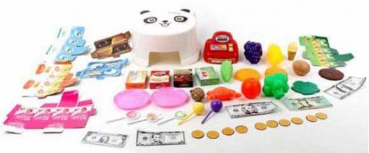"""Игровой набор Shantou Gepai """"Стульчик маленького кассира"""" 46 предметов в ассортименте"""