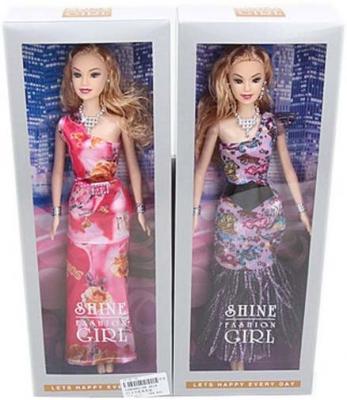 Кукла Shantou Gepai Модный выход в вечернем платье 29 см в ассортименте