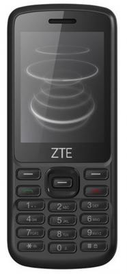 """Мобильный телефон ZTE F327 черный 2.4"""" 45 Мб 3G"""