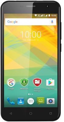 Смартфон Prestigio Muze B3 черный 5 8 Гб Wi-Fi GPS 3G смартфон micromax q334 canvas magnus черный 5 4 гб wi fi gps 3g