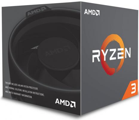 Процессор AMD Ryzen 3 X4 R3-1200 YD1200BBAEBOX Socket AM4 BOX процессор amd ryzen 7 1700x oem yd170xbcm88ae