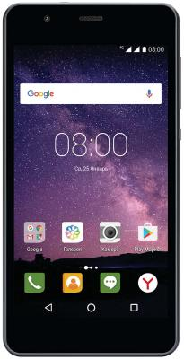 Смартфон Philips S318 темно-серый 5 16 Гб LTE Wi-Fi GPS 3G смартфон philips s318 золотистый 5 16 гб lte wi fi gps 3g 4g