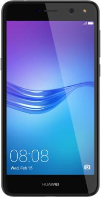 Смартфон Huawei Y5 2017 серый 5 16 Гб LTE Wi-Fi GPS 3G MYA-U29 51050NFF смартфон zte blade v8 золотистый 5 2 32 гб lte wi fi gps 3g bladev8gold