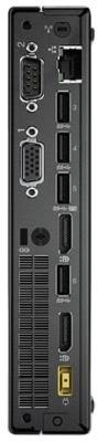 Неттоп Lenovo ThinkCentre Tiny M710q Intel Core i5-7400T 4Gb 1Tb Intel GMA HD DOS черный 10MRS04C00