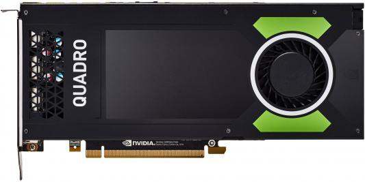 Видеокарта 8192Mb HP Quadro P4000 PCI-E GDDR5 DP 1ME40AA видеокарта пк hp graphics card nvidia quadro p4000 8gb 1me40aa 1me40aa