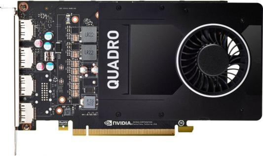 Видеокарта 5120Mb HP Quadro P2000 PCI-E GDDR5 DP 1ME41AA