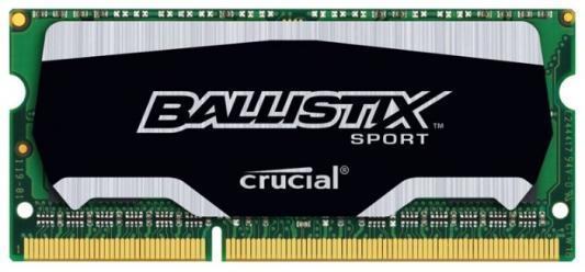 Оперативная память для ноутбуков SO-DDR3 4Gb PC3-12800 1600MHz Crucial BLS4G3N169ES4