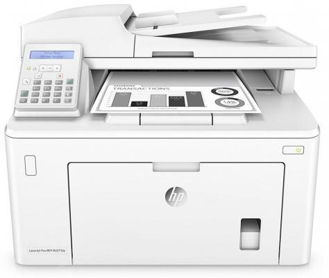 МФУ HP LaserJet Pro MFP M227fdn G3Q79A ч/б A4 28ppm 1200x1200dpi Ethernet USB repalce paper roller kit for hp laserjet laserjet p1005 6 7 8 m1212 3 4 6 p1102 m1132 6 rl1 1442 rl1 1442 000 rc2 1048 rm1 4006