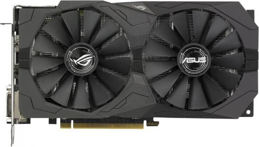 Видеокарта 4096Mb ASUS RX 570 PCI-E DVI HDMI DP HDCP ROG-STRIX-RX570-4G-GAMING Retail купить