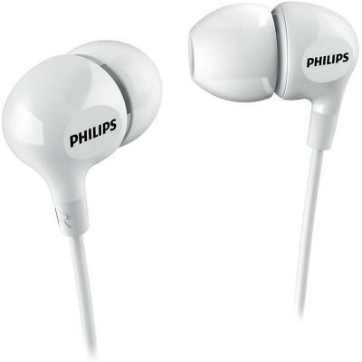 Наушники Philips SHE3550WT/00 белый наушники philips she3515wt she3515wt 00
