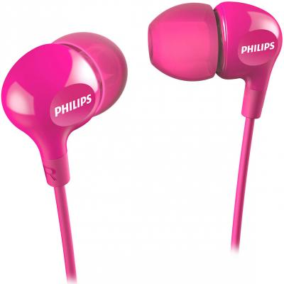 Наушники Philips SHE3550PK/00 розовый наушники philips she3515wt she3515wt 00