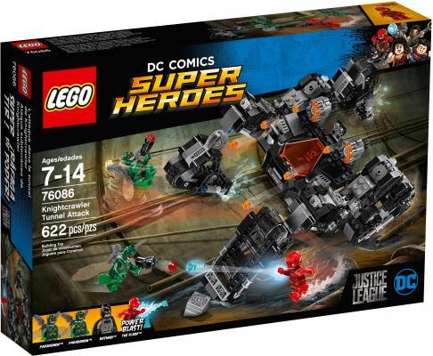 Конструктор LEGO Super Heroes Сражение в туннеле 622 элемента 76086 lego super heroes 76059 человек паук в ловушке доктора осьминога