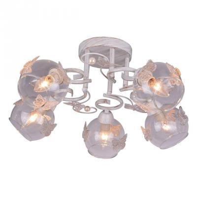 Потолочная люстра Arte Lamp Alessandra A5004PL-5WG люстра на штанге arte lamp alessandra a5004pl 3ab