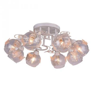 Потолочная люстра Arte Lamp Alessandra A5004PL-8WG люстра на штанге arte lamp alessandra a5004pl 3ab