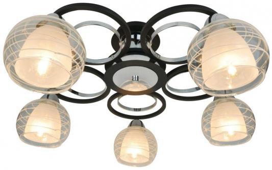 Потолочная люстра Arte Lamp Ginevra A1604PL-5BK подвесная люстра arte lamp 59 a6586lm 5bk