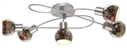 Потолочная люстра Arte Lamp Illusione A6125PL-5SS люстра на штанге arte lamp cloud a8170pl 5ss