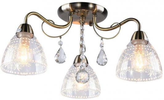 Потолочная люстра Arte Lamp Rugiada A1658PL-3AB arte lamp люстра на штанге arte lamp a6056pl 3ab