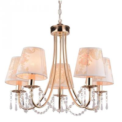 Подвесная люстра Arte Lamp Armonico A5008LM-5GO торшер arte lamp armonico a5008pn 3go
