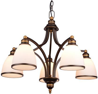 Подвесная люстра Arte Lamp Bonito A9518LM-5BA цена 2017