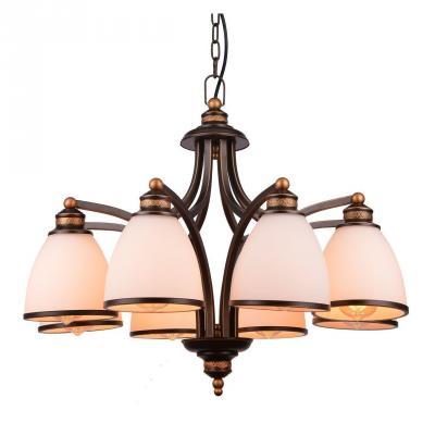 Подвесная люстра Arte Lamp Bonito A9518LM-8BA arte lamp потолочная люстра arte lamp liverpool a3004pl 8ba