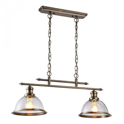 Подвесная люстра Arte Lamp Oglio A9273SP-2AB arte lamp подвесная люстра arte lamp bellator a8959sp 5br