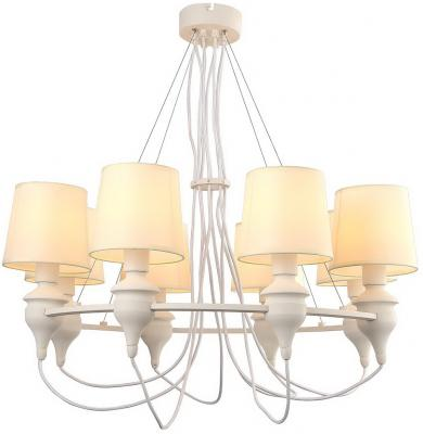 Подвесная люстра Arte Lamp Sergio A3326LM-8WH arte lamp подвесная люстра arte lamp bellator a8959sp 5br