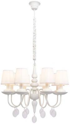 Подвесная люстра Arte Lamp Signora A2510LM-8WH arte lamp подвесная люстра arte lamp bellator a8959sp 5br