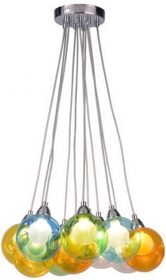 Подвесная светодиодная люстра Arte Lamp Pallone A3026SP-11CC подвесная светодиодная люстра arte lamp pallone a3026sp 11cc