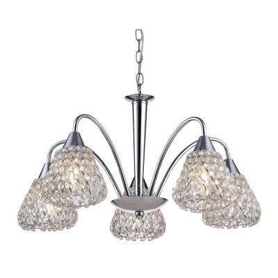Подвесная люстра Arte Lamp Adamello A9466LM-5CC подвесная люстра arte lamp brooklyn a9484sp 5cc