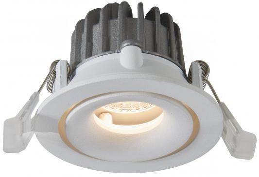 Встраиваемый светодиодный светильник Arte Lamp Apertura A3310PL-1WH встраиваемый светильник arte lamp apertura a3315pl 1wh