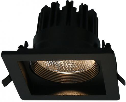 Встраиваемый светодиодный светильник Arte Lamp Privato A7007PL-1BK встраиваемый светильник arte lamp privato a7007pl 1wh