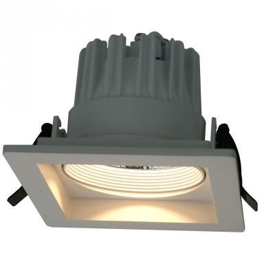 Встраиваемый светодиодный светильник Arte Lamp Privato A7018PL-1WH встраиваемый светильник arte lamp cielo a7314pl 1wh