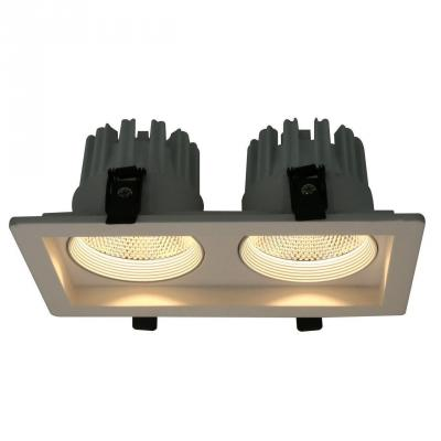 Встраиваемый светодиодный светильник Arte Lamp Privato A7007PL-2WH встраиваемый светильник arte lamp privato a7007pl 1wh