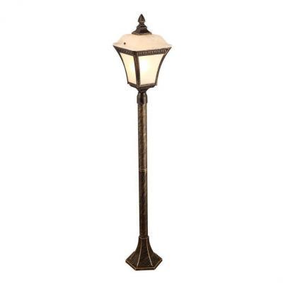 Уличный светильник Arte Lamp Memphis A3161PA-1BN наземный низкий светильник arte lamp memphis a3161fn 1bn