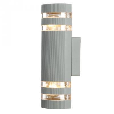 Уличный настенный светильник Arte Lamp Metro A8162AL-2GY
