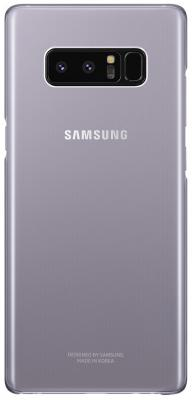 Чехол (клип-кейс) Samsung для Samsung Galaxy Note 8 Clear Cover Great фиолетовый (EF-QN950CVEGRU) чехол клип кейс samsung alcantara cover great для samsung galaxy note 8 хаки [ef xn950akegru]