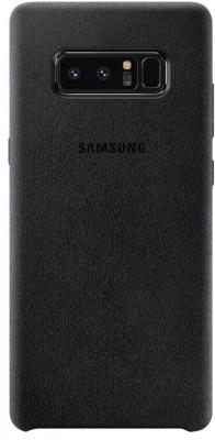 Чехол (клип-кейс) Samsung для Samsung Galaxy Note 8 Alcantara Cover Great черный (EF-XN950ABEGRU) чехол клип кейс samsung для samsung galaxy note 8 clear cover great фиолетовый ef qn950cvegru