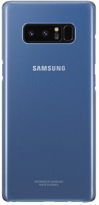 Чехол (клип-кейс) Samsung для Samsung Galaxy Note 8 Clear Cover Great темно-синий (EF-QN950CNEGRU) чехол клип кейс samsung alcantara cover great для samsung galaxy note 8 хаки [ef xn950akegru]