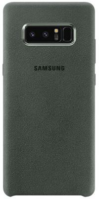 Чехол (клип-кейс) Samsung для Samsung Galaxy Note 8 Alcantara Cover Great хаки (EF-XN950AKEGRU) чехол клип кейс samsung для samsung galaxy note 8 clear cover great фиолетовый ef qn950cvegru